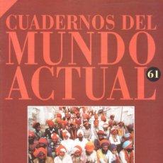 Libros de segunda mano: CUADERNOS DEL MUNDO ACTUAL 61 HINDUES Y MUSULMANES HISTORIA 16 . Lote 22204940