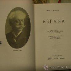 Libros de segunda mano: LIBRO -ESPAÑA-, DE EDMONDO DE AMICIS. AÑO 1987.TRADUCCIÓN DE LA EDICIÓN FRANCESA DE 1872.. Lote 22283551