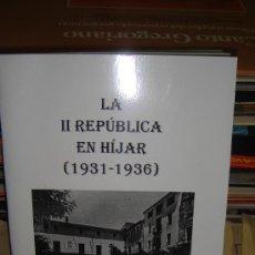Libros de segunda mano: LA II REPUBLICA EN HIJAR , 1ª EDICION - CANDIDO MARQUESAN , DEDICADO POR EL AUTOR. Lote 26017686
