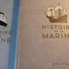 Libros de segunda mano: HISTOIRE DE LA MARINE - L'ILLUSTRATION 1959 - 2 TOMOS. Lote 23512335