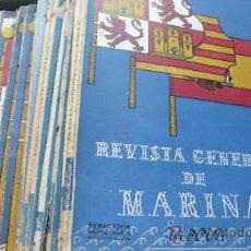 Libros de segunda mano: 13 NÚMEROS DE LA REVISTA GENERAL DEL MAR, 1946, 1948, 1949, 1950, 1951. Lote 24500576