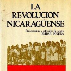 Libros de segunda mano: LA REVOLUCIÓN NICARAGUENSE. EDITORIAL REVOLUCIÓN. 1980.. Lote 34410325