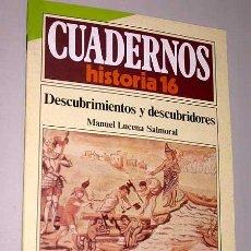 Libros de segunda mano: CUADERNOS DE HISTORIA 16, Nº 139.DESCUBRIMIENTOS Y DESCUBRIDORES. MANUEL LUCENA SALMORAL. PIZARRO.. Lote 25555604
