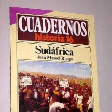 Libros de segunda mano: CUADERNOS DE HISTORIA 16, Nº 133. SUDÁFRICA. JUAN MANUEL RIESGO. APARTHEID. GRAN TRECK.. Lote 25555709
