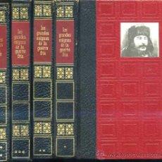 Libros de segunda mano: LOS GRANDES ENIGMAS DE LA GUERRA FRÍA - CUATRO TOMOS. Lote 26220066