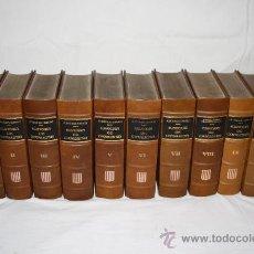 Libros de segunda mano: 1746- FANTÁSTICA COLECCIÓN DE X TOMOS 'HISTORIA DE CATALUNYA', AÑO 1972. Lote 27330179