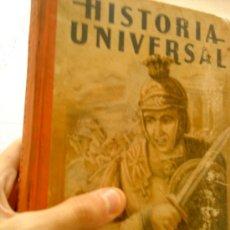 Libros de segunda mano: HISTORIA UNIVERSAL EDELVIVES 1943. Lote 27843393