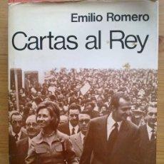 Libros de segunda mano: LIBRO CARTAS AL REY POR EMILIO ROMERO ,396 PAGINAS,HISTORIA,REALEZA.GUERRA CIVIL.MONARQUIA . Lote 29019323