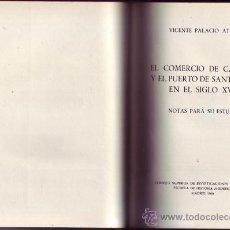 Libros de segunda mano: EL COMERCIO DE CASTILLA Y EL PUERTO DE SANTANDER EN EL SIGLO XVII. NOTAS PARA SU ESTUDIO. V.P. ATARD. Lote 29798769