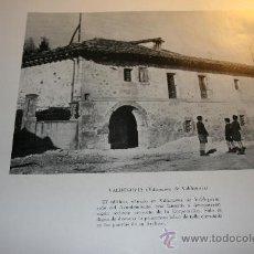 Libros de segunda mano: CASAS CONSISTORIALES, 1963. HOJA AYUNTAMIENTOS DE VALDEGOVÍA Y VILLAREAL DE ÁLAVA.. Lote 30671877