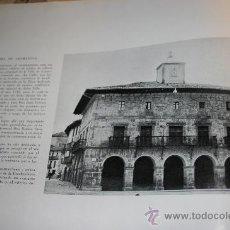 Libros de segunda mano: CASAS CONSISTORIALES, 1963. HOJA AYUNTAMIENTOS IBARRA DE ARAMAYONA Y ELCIEGO.. Lote 30671916