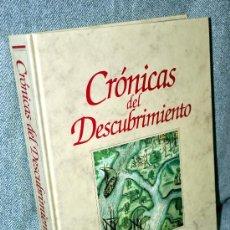Libros de segunda mano: CRÓNICAS DEL DESCUBRIMIENTO - EDITORIAL PLANETA - AÑO 1992 - LIBRO GRAN FORMATO - COMO NUEVO. Lote 107410914