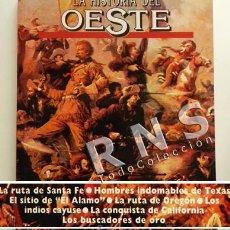 Libros de segunda mano: HISTORIA DEL OESTE LIBRO ILUSTRADO FOTOS DIBUJOS EEUU AMÉRICA INDIOS BUSCADORES ORO FOTOGRAFÍAS ETC. Lote 31620223