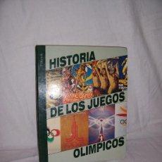 Libros de segunda mano: HISTORIA DE LOS JUEGOS OLIMPICOS. DIARIO 16. AÑO 1992. MUY ILUSTRADO A COLOR.. Lote 32047569