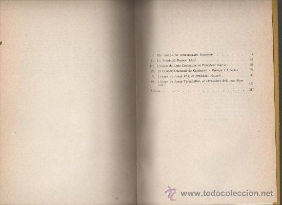 Libros de segunda mano: miquel ferrer la generalitat de catalunya a lexili editorial ayma barcelona 1977 - Foto 2 - 32627921