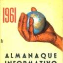 Libros de segunda mano: ALMANAQUE INFORMATIVO ESPAÑOL 1961. Lote 32644952