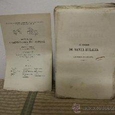Libros de segunda mano: 1784- BONITO LIBRO EL PENDON DE SANTA EULALIA. MANUEL ANGELON. EDIT. SALVADOR MONTSERRAT. 1858.. Lote 34307674