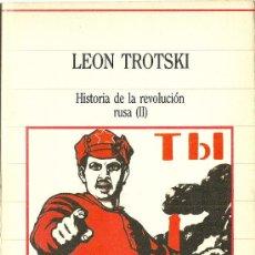 Libros de segunda mano: * RUSIA * HISTORIA DE LA REVOLUCIÓN RUSA. II / LEÓN TROTSKI . Lote 34762029