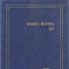 Libros de segunda mano: REVISTA MENSUAL 1971 - ERICH GYSLING - ED. ALPHA - GRAN FORMATO - ENCUADERNACION ESTRA - VER FOTO - . Lote 35180045