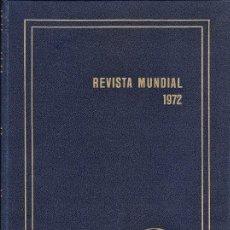 Libros de segunda mano: REVISTA MENSUAL 1972 - ERICH GYSLING - ED. ALPHA - GRAN FORMATO - ENCUADERNACION ESTRA - VER FOTO - . Lote 35180085