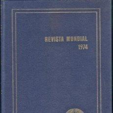 Libros de segunda mano: REVISTA MENSUAL 1974 - ERICH GYSLING - ED. ALPHA - GRAN FORMATO - ENCUADERNACION ESTRA - VER FOTO - . Lote 35180140