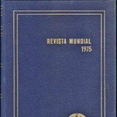 Libros de segunda mano: REVISTA MENSUAL 1975 - ERICH GYSLING - ED. ALPHA - GRAN FORMATO - ENCUADERNACION ESTRA - VER FOTO - . Lote 35180157