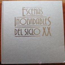 Libros de segunda mano: ESCENAS INOLVIDABLES DEL SIGLO XX - EN - ILUSTRACIONES - 512 PAGINAS. Lote 35335872