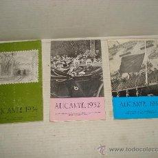 Libros de segunda mano: ALICANTE 1931 1932 1934 3 TOMOS DE FERNANDO GIL , RAUL ALVAREZ , MIGUEL MARTINEZ Y F. ALDEGUER . Lote 35395284