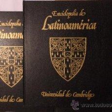 Libros de segunda mano: ENCICLOPEDIA DE LATINOAMÉRICA. UNIVERSIDAD DE CAMBRIDGE. EDITORIAL DEBATE/ CÍRCULO DE LECTORES. Lote 36602032