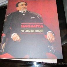 Libros de segunda mano - Sagasta y el liberalismo Español - Fundacion BBVA - 2000 -Ministerio de Educación Cultura y Deporte - 36792283