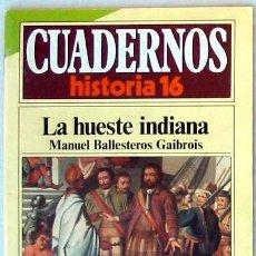 Livros em segunda mão: CUADERNOS HISTORIA 16 - Nº 172 - LA HUESTE INDIANA - VER DESCRIPCIÓN E ÍNDICE. Lote 37153693