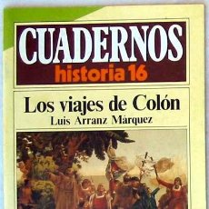 Livros em segunda mão: CUADERNOS HISTORIA 16 - Nº 116 - LOS VIAJES DE COLÓN - VER DESCRIPCIÓN E ÍNDICE. Lote 37154023