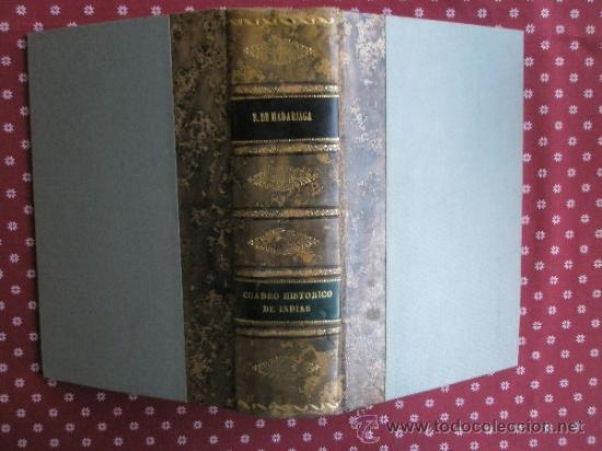 Libros de segunda mano: Madariaga S.de: Cuadro histórico de las Indias (1945) - Foto 2 - 37747193