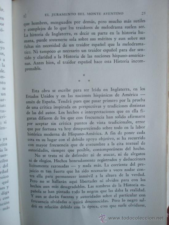 Libros de segunda mano: Madariaga S.de: Cuadro histórico de las Indias (1945) - Foto 5 - 37747193