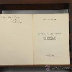 Libros de segunda mano: 3516- ELS TERMINALS DEL PRINCIPAT. JOAQUIM SANTASUSAGNA. GRAF. RABASSA. 1958. Lote 38230591