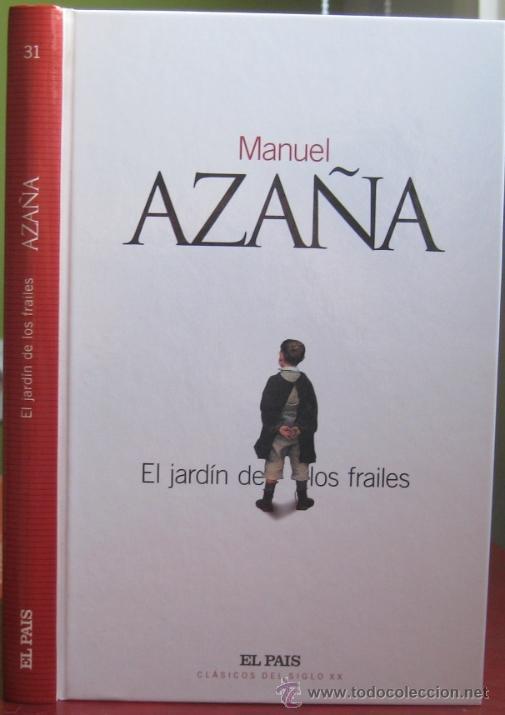 El jard n de los frailes manuel aza a 2003 comprar for El jardin de los libros