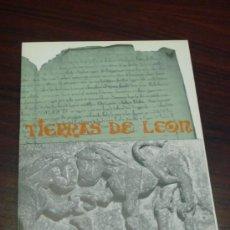 Libros de segunda mano: TIERRAS DE LEON. REVISTA DE LA DIPUTACIÓN PROVINCIAL. JUNIO 1974. AÑO XIV. Nº 19.. Lote 38853623