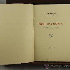 Libros de segunda mano: 3862- TARRAGONA SIMBOLO. MANUEL DE MONTOLIU. IMP. SUGRAÑES. 1950. . Lote 39216008