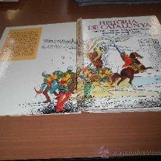 Libros de segunda mano: JOAN SOLER I AMIGO HISTORIA DE CATALUNYA IL-LUSTRADOR JOSEP VINYALS PROLEG ORIOL VERGES 1978. Lote 39219724