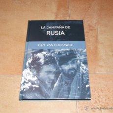 Libros de segunda mano: LA CAMPAÑA DE RUSIA, 1812 DE CARL VON CLAUSEWITZ. INVASIÓN DE RUSIA POR NAPOLEÓN.. Lote 51780156