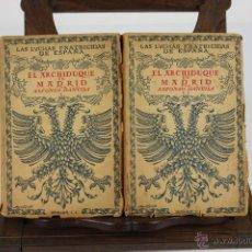 Libros de segunda mano: 5963- LAS LUCHAS FRATRICIDAS DE ESPAÑA. ALFONSO DANVILA. EDIT. ESPASA CALPE. 4 VOL. 1940/1941.. Lote 40228712