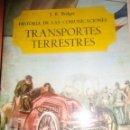 Libros de segunda mano: MOTOR LIBRO MUY ILUSTRADO HISTORIA DE LAS COMUNICACIONES TRANSPORTES TERRESTRES,TRENES, COCHES. Lote 40434858