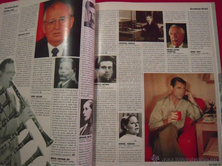 Libros de segunda mano: LOS 1000 PROTAGONISTAS DEL SIGLO XX - COLECCIONABLE DE EL PAIS - Foto 3 - 40846863