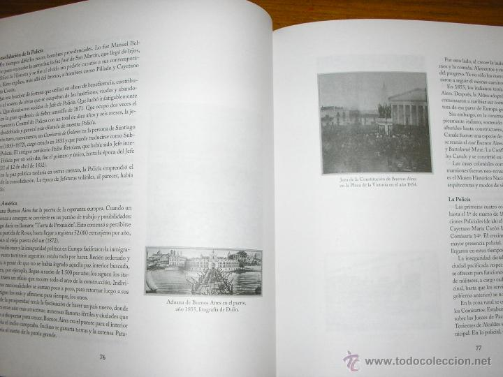 Libros de segunda mano: HISTORIA DE LA POLICIA FEDERAL ARGENTINA EN EL BICENTENARIO DEL 25 DE MAYO DE 1810 - Edit. Policial - Foto 4 - 40946123