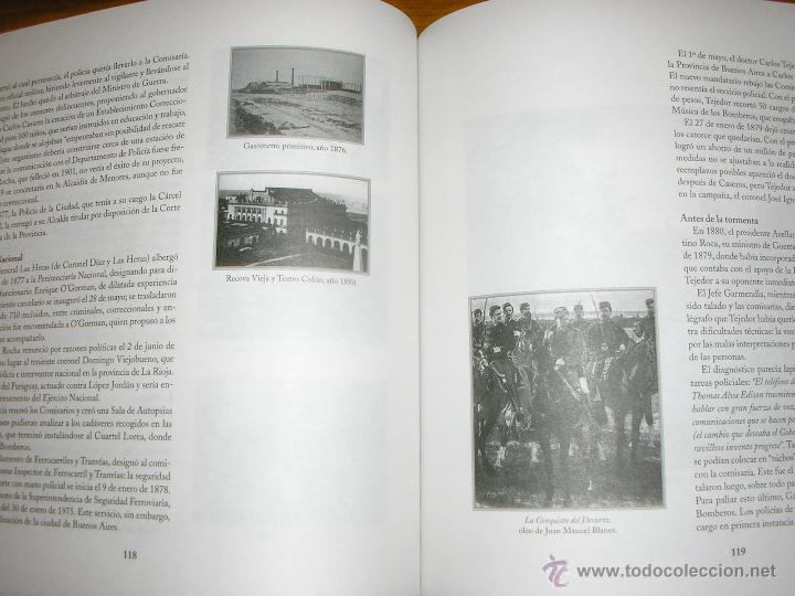 Libros de segunda mano: HISTORIA DE LA POLICIA FEDERAL ARGENTINA EN EL BICENTENARIO DEL 25 DE MAYO DE 1810 - Edit. Policial - Foto 5 - 40946123