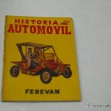 Libros de segunda mano: HISTORIA DEL AUTOMOVIL-FEREVAN-EDITORIAL MON. Lote 41193178