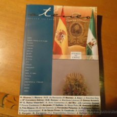 Libros de segunda mano: ATENEO REVISTA LIBRO CULTURAL DEL ATENIO DE CADIZ CON MUCHAS FOTOS DE AUTORIDADES Y FAMOSOS 359 PAG. Lote 41219885
