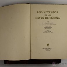 Libros de segunda mano: 4460- LOS RETRATOS DE LOS REYES DE ESPAÑA. SANCHEZ CANTON. EDIT. OMEGA. 1948. . Lote 127791307