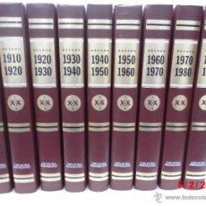 Libros de segunda mano: ANUARIOS DE LOS HECHOS.IMAGENES Y RECUERDOS.DIFUSORA INTERNACIONAL.GRAN HEMEROTECA 60 TOMOS1898-2001. Lote 41452785