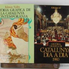 Libros de segunda mano: 4539- HISTORIA GRAFICA DE CATALUNYA. EDICIONS 62. VV.AA. AÑOS 80. 9 VOL. . Lote 41570528